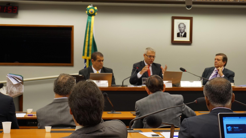 Reunião da Comissão do Proforte.