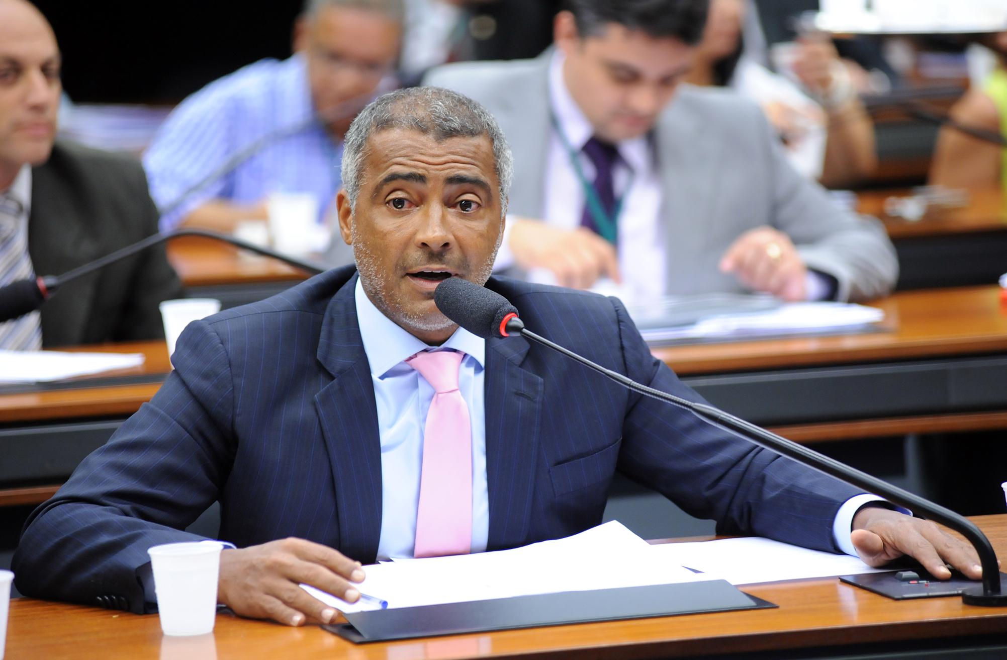 Romário - Foto Agência Câmara