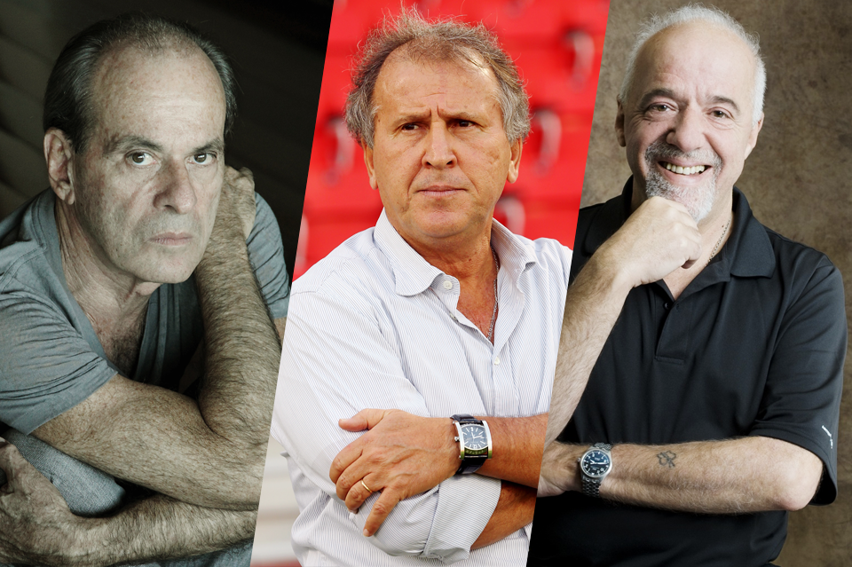 Ney Matogrosso, Zico e Paulo Coelho