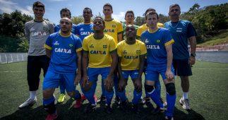 Seleção Brasileira de Futebol de 5 (Foto: CPB)