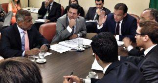 Reunião na Liderança do Governo