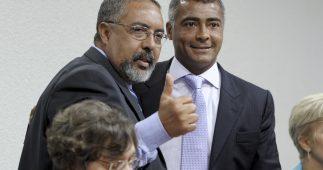 Senador Paulo Paim e Romário