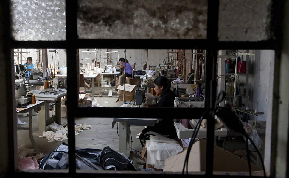 Bolivianos flagrados em condição análoga à escravidão foram resgatados pelo Ministério do Trabalho e Emprego (MTE)
