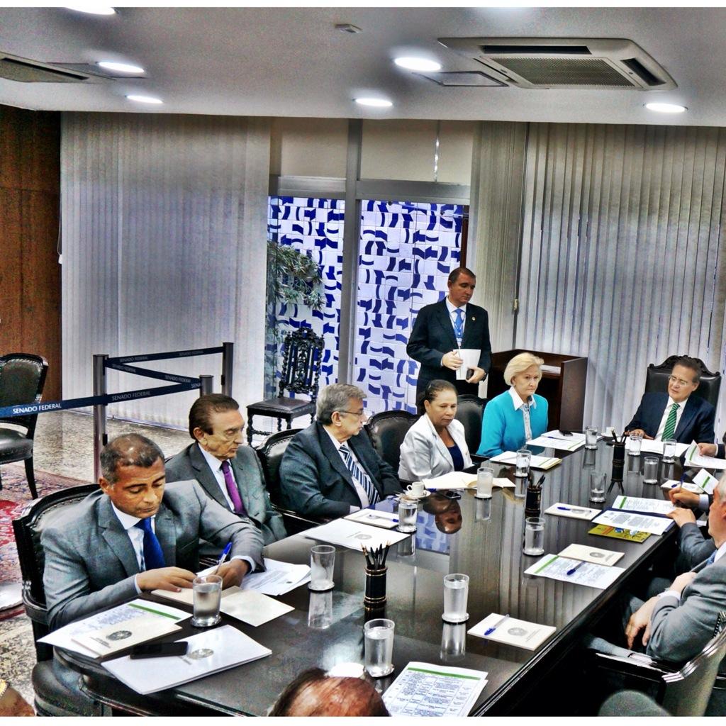 Reunião dos presidentes de comissão